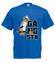 Aj em gangsta koszulka z nadrukiem smieszne mezczyzna werprint 176 5