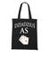 Najwiekszy as musi miec swoja koszulke torba z nadrukiem dla dziadka gadzety werprint 1258 160