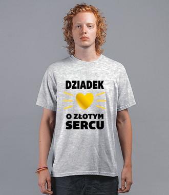 Koszulka z grafiką i z przekazem dla dziadka - Koszulka z nadrukiem - Dla Dziadka - Męska