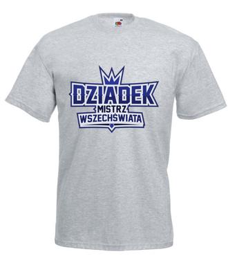 Koszulka dla mistrza w każdej dziedzinie życia - Koszulka z nadrukiem - Dla Dziadka - Męska