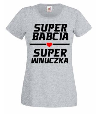 Efektowna koszulka dla babci - Koszulka z nadrukiem - Dla Babci - Damska