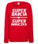 Efektowna koszulka dla babci bluza z nadrukiem dla babci kobieta werprint 1278 116