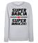 Super babcia super wnuczki bluza z nadrukiem dla babci kobieta werprint 1285 118