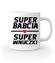 Super babcia super wnuczki kubek z nadrukiem dla babci gadzety werprint 1285 159