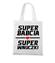 Super babcia super wnuczki torba z nadrukiem dla babci gadzety werprint 1285 161