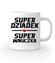 Super dziadek super wnuczka kubek z nadrukiem dla dziadka gadzety werprint 1287 159