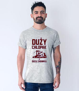 Koszulka z zabawnym przesłaniem - Koszulka z nadrukiem - dla kierowcy tira - Męska