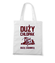 Koszulka z zabawnym przeslaniem torba z nadrukiem dla kierowcy tira gadzety werprint 1292 161