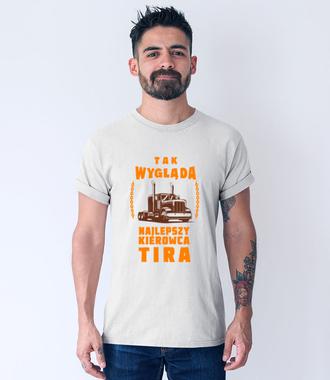 Przechwałki kierowcy na wesoło - Koszulka z nadrukiem - dla kierowcy tira - Męska
