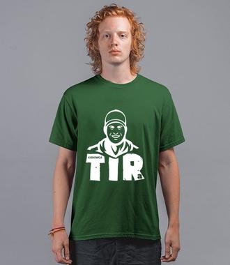 Branżowa koszulka z grafiką - Koszulka z nadrukiem - dla kierowcy tira - Męska
