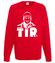 Branzowa koszulka z grafika bluza z nadrukiem dla kierowcy tira mezczyzna werprint 1307 108
