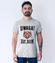 Lubimy takie komunikaty koszulka z nadrukiem smieszne mezczyzna werprint 1334 57