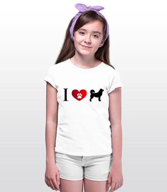 Prosty i czytelny przekaz graficzny - Koszulka z nadrukiem - Miłośnicy Psów - Dziecięca