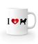 Prosty i czytelny przekaz graficzny kubek z nadrukiem milosnicy psow gadzety werprint 1340 159