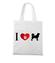 Prosty i czytelny przekaz graficzny torba z nadrukiem milosnicy psow gadzety werprint 1340 161