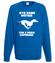 Trzeba miec dystans do obowiazkow bluza z nadrukiem milosnicy psow mezczyzna werprint 1344 109