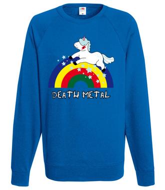 Death Metal czy Słit plastik? - Bluza z nadrukiem - Śmieszne - Męska