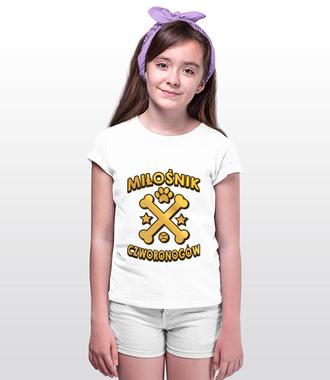 Koszulka z nadrukiem dla miłośników psów - Koszulka z nadrukiem - Miłośnicy Psów - Dziecięca