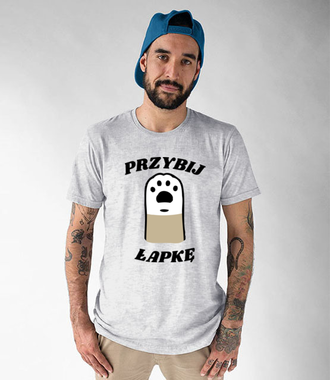 Koszulka dla wszystkich przyjaciół psów - Koszulka z nadrukiem - Miłośnicy Psów - Męska
