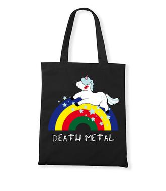 Death Metal czy Słit plastik? - Torba z nadrukiem - Śmieszne - Gadżety