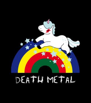 Death metal czy slit plastik grafika na torbe 179