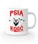 Psia koszulka z humorem kubek z nadrukiem milosnicy psow gadzety werprint 1358 159