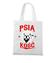Psia koszulka z humorem torba z nadrukiem milosnicy psow gadzety werprint 1358 161
