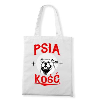 Psia koszulka z humorem - Torba z nadrukiem - Miłośnicy Psów - Gadżety