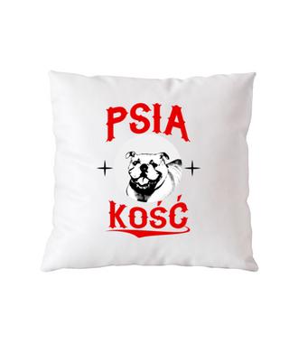 Psia koszulka z humorem - Poduszka z nadrukiem - Miłośnicy Psów - Gadżety