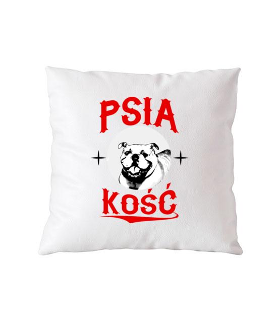 Psia koszulka z humorem poduszka z nadrukiem milosnicy psow gadzety werprint 1358 164