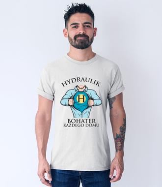 Koszulka dla hydraulicznego bohatera - Koszulka z nadrukiem - Dla hydraulika - Męska