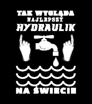 Mała autoreklama nie zaszkodzi - Koszulka z nadrukiem - Dla hydraulika - Męska