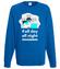 Noc i dzien programuj bluza z nadrukiem dla programisty mezczyzna werprint 1400 109