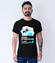 Gdy wszyscy spia koszulka z nadrukiem dla programisty mezczyzna werprint 1402 52