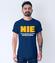 Asertywny informatyk koszulka z nadrukiem dla programisty mezczyzna werprint 1419 56