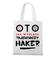 Koszulka z nadrukiem dla hakera torba z nadrukiem dla programisty gadzety werprint 1427 161