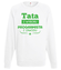 Tata programista bluza z nadrukiem dla programisty mezczyzna werprint 1429 106