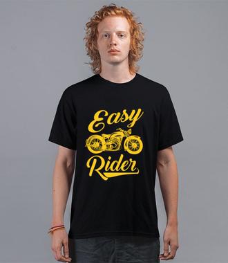 Easy Rider – to cały ty! - Koszulka z nadrukiem - Dla motocyklisty - Męska