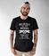 Motocyklisci to jednostki z humorem koszulka z nadrukiem dla motocyklisty mezczyzna werprint 1458 46