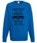 Motocyklisci to jednostki z humorem bluza z nadrukiem dla motocyklisty mezczyzna werprint 1457 109