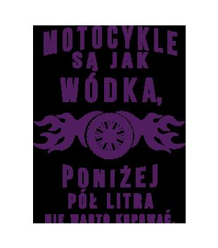 Motocyklisci to jednostki z humorem grafika na koszulke damska 1456