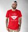 Motocyklowy humor w graficznej odslonie koszulka z nadrukiem dla motocyklisty mezczyzna werprint 1466 48