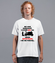 Odrobina autoreklamy koszulka z nadrukiem dla motocyklisty mezczyzna werprint 1467 40