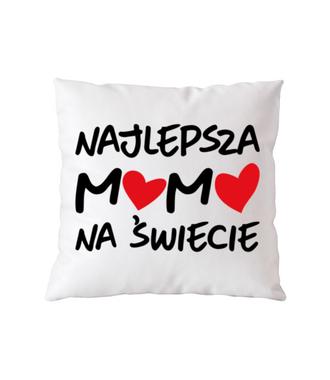 Najlepsza mama na świecie - Poduszka z nadrukiem - Dla mamy - Gadżety