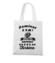 Niech kazdy wie jaki z ciebie twardziel torba z nadrukiem dla motocyklisty gadzety werprint 1479 161