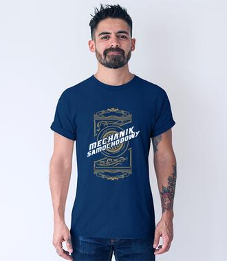 Stylowa koszulka dla mechanika - Koszulka z nadrukiem - Dla mechanika - Męska
