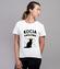 Poklony dla kociej krolowej koszulka z nadrukiem milosnicy kotow kobieta werprint 1507 77
