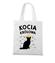 Poklony dla kociej krolowej torba z nadrukiem milosnicy kotow gadzety werprint 1507 161