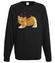 Kotek jak malowany bluza z nadrukiem milosnicy kotow mezczyzna werprint 1509 107