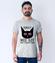 Kot hipnotyzer koszulka z nadrukiem milosnicy kotow mezczyzna werprint 1512 57